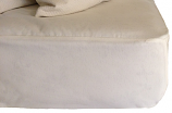 Little Lamb Quilted Washable Wool Mattress Pad