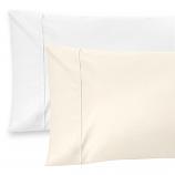 Shore Collection 310 Combed Cotton Percale Pillowcases.