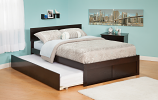 Atlantic Orlando Flat Panel Foot Board and Urban Bed Drawers