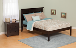 Atlantic Madison Bed with Open Foot Rail
